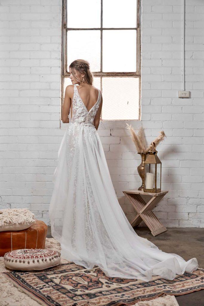 white april Wedding Dresses, WA247, Gardenia Bridal