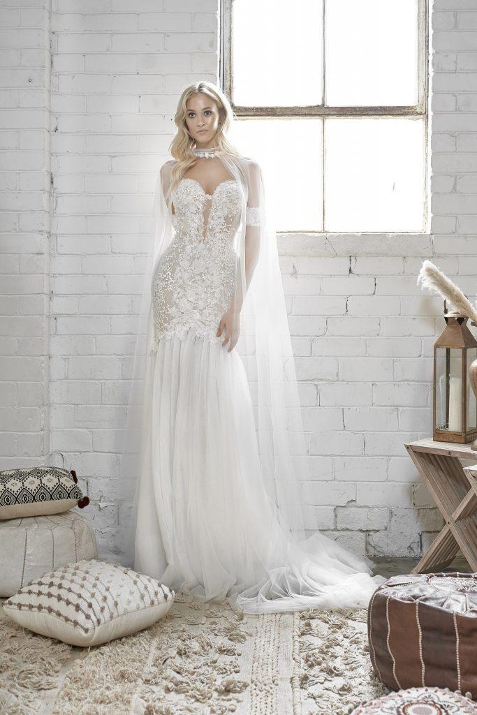white april Wedding Dresses, WA250, Gardenia Bridal