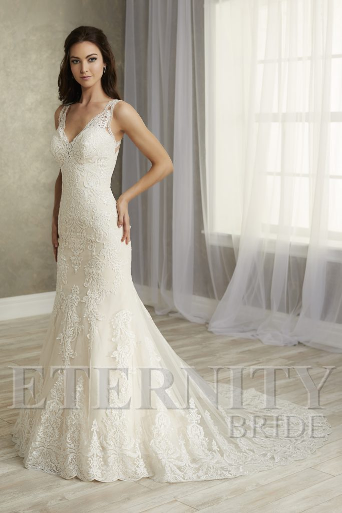 Eternity Bride Wedding Dresses D5626, D5626, Gardenia Bridal